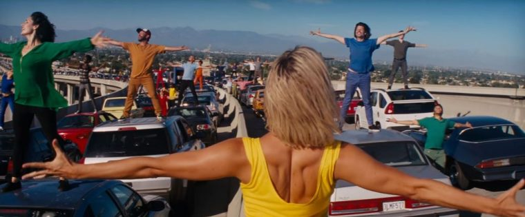 La La Land film movie cars Lionsgate 2016 scene dance