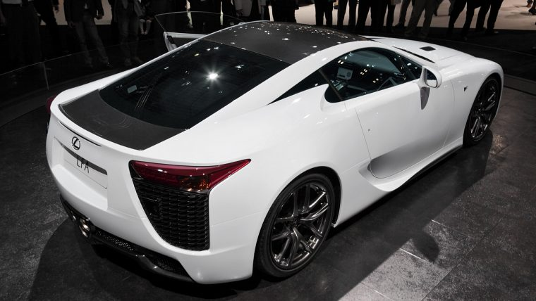 "<sub><em>Photo: <a href=""https://commons.wikimedia.org/wiki/File:Lexus_LFA_008.JPG"">Tennen-Gas</a></sub></em>"