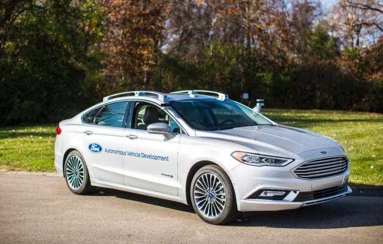 next-generation Fusion Hybrid Autonomous Development Vehicle