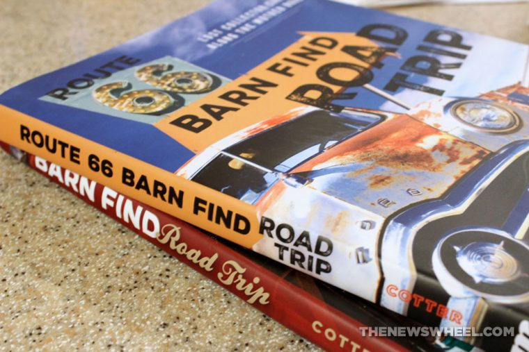 Route 66 Barn Find Road Trip book review antique classic cars Motorbooks comparison