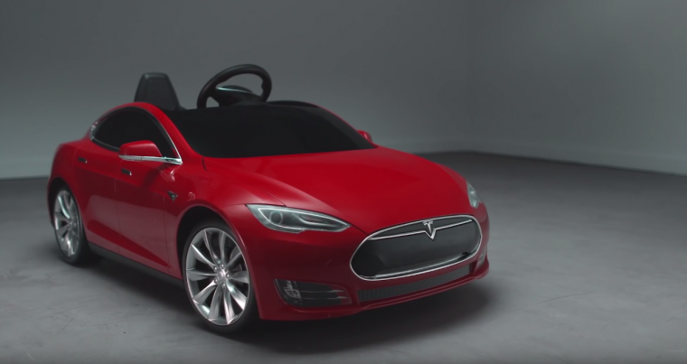 Tesla Model S Radio Flyer