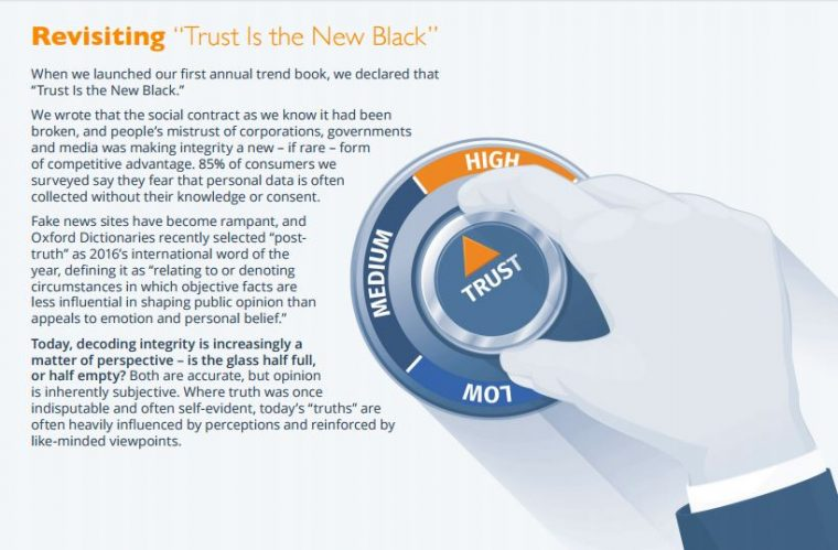 Trust is the New Black