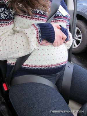Tummy Shield Pregnancy Seatbelt Adjuster Review Car Seat Cushion body use