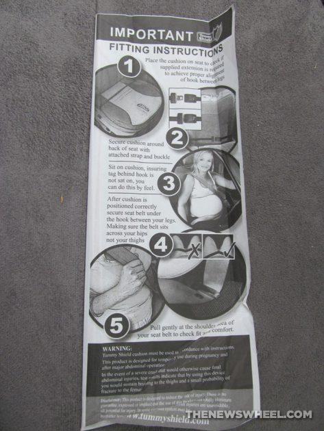 Tummy Shield Pregnancy Seatbelt Adjuster Review Car Seat Cushion instructions