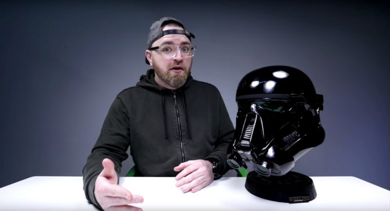 Unbox Therapy unwraps 2017 Nissan Rogue: Rogue One Star Wars Limited Edition