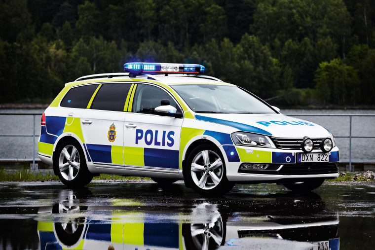 Volkswagen Passat Wagon Swedish Police