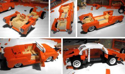 Volkswagen VW Karmann Ghia LEGO set classic car model Vibor Cavor building bricks