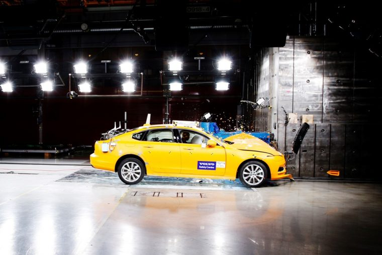 Volvo led all European carmakers with four 2017 Top Safety Pick+ awards