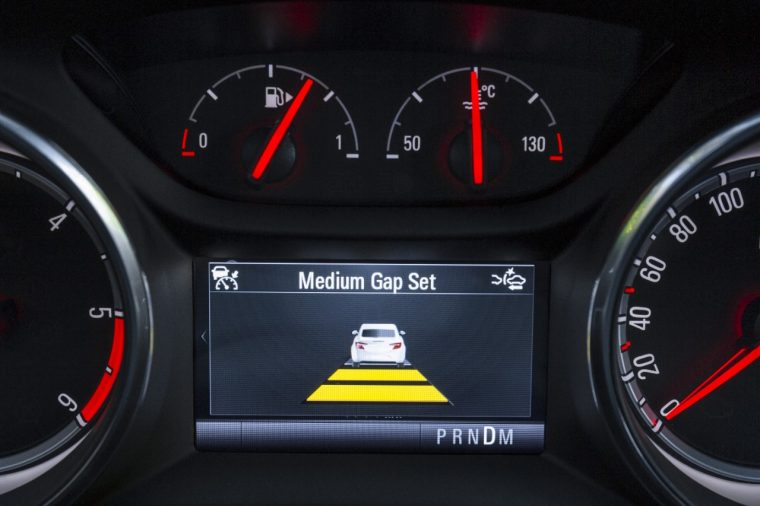 Opel Astra adaptive cruise control