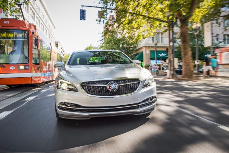 All-new 2017 Buick LaCrosse