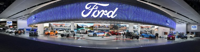 Ford NAIAS Display