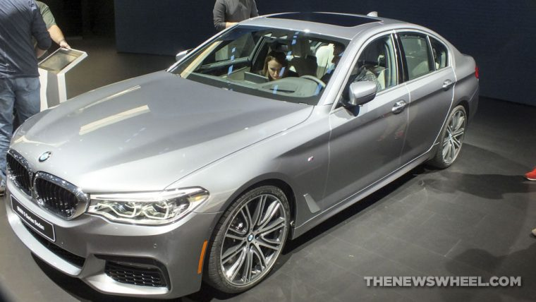 A sneak peek of the 2017 BMW 5 Series
