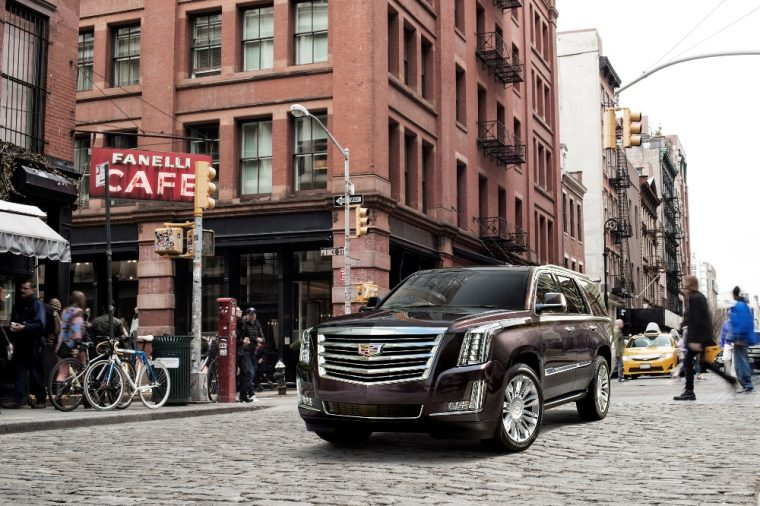 The interior of the Cadillac Escalade was taken to the next level thanks to Carlex Designs
