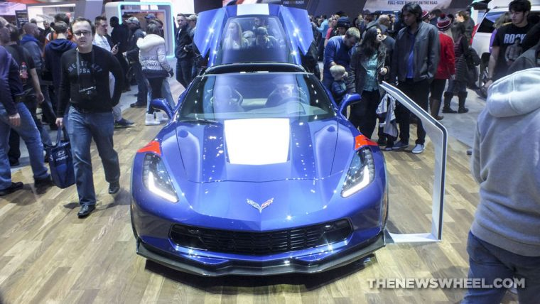 The 2017 Chevrolet Corvette Grand Sport was one of the fastest cars shown at the 2017 Detroit Auto Show