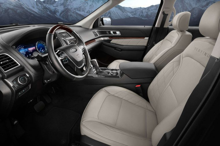 2017 Ford Explorer interior