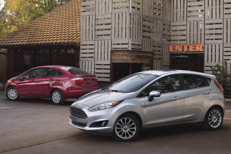 2017 Ford Fiesta exterior