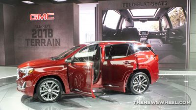 The 2018 GMC Terrain recently premiered at the 2017 Detroit Auto Show