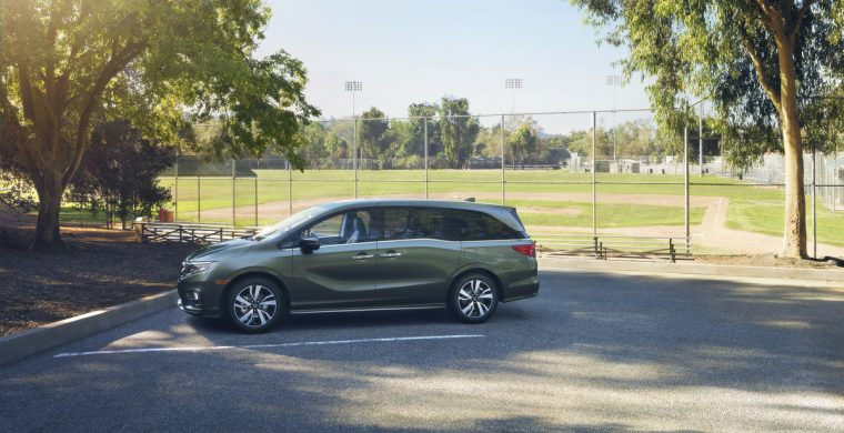 The all-new 2018 Honda Odyssey