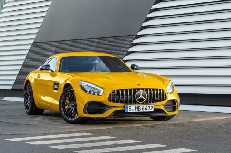 The new Mercedes-AMG GT C coupe will become available in the US this fall