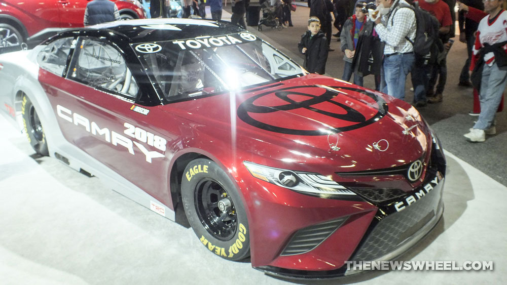 2018 Toyota Camry NASCAR Looks Ready to Eat You Up | The News Wheel