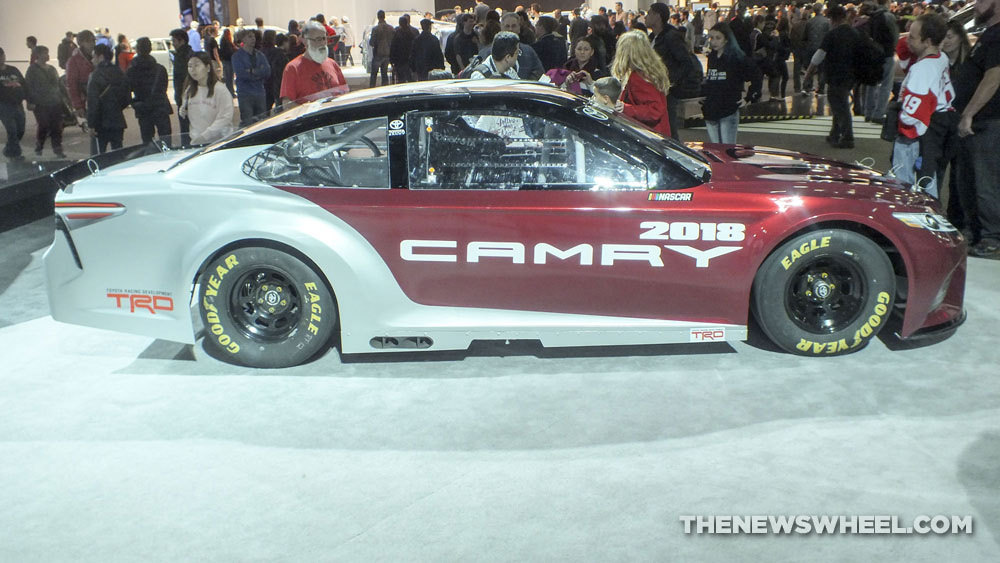 2018 Toyota Camry NASCAR Looks Ready to Eat You Up - The ...