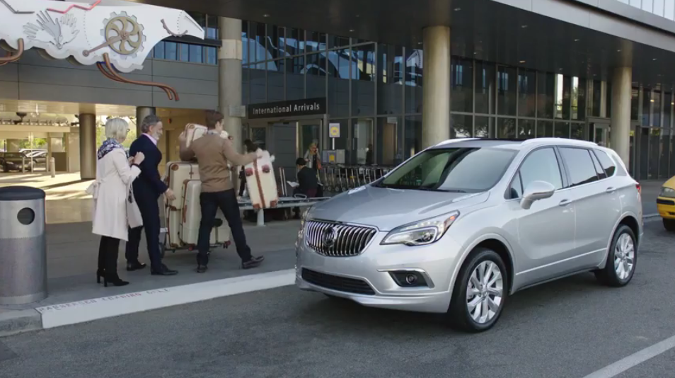 Who S That Hunk In The New 2017 Buick Envision Commercial The