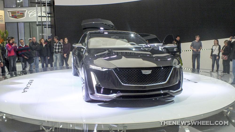 Cadillac Escala Concept Makes Surprise Appearance At 2017 Detroit