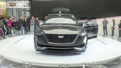 Cadillac showed off its Escala Concept Car at the 2017 Detroit Auto Show