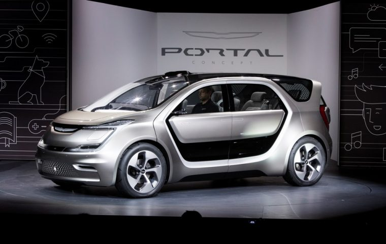 Fca Reveled The Chrysler Portal Concept At 2017 Ces And It Was Designed By Millennials