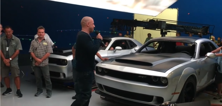 The real stars of The Fate of the Furious: Two Dodge Demons?