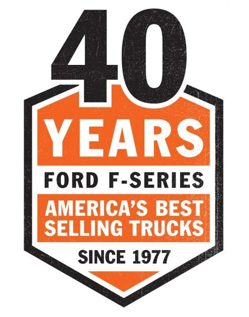 Ford 40 years best-selling truck