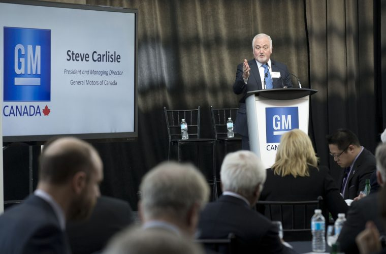 GM Canada hosts the Business Council of Canada at Tecnical Centre - Markham Campus