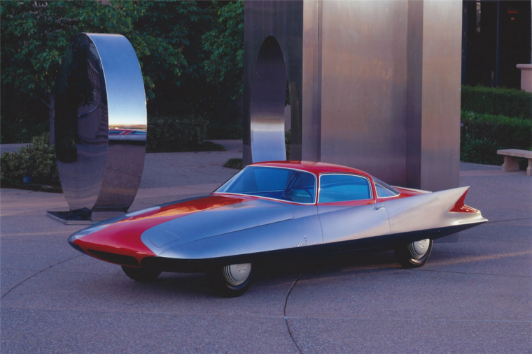 The 1955 Chrysler Ghia Streamline X Photo: Barrett-Jackson