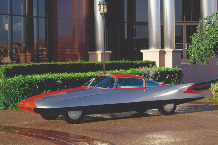 It's a bird! It's a plane! It's a... Chrysler? Photo: Barrett-Jackson