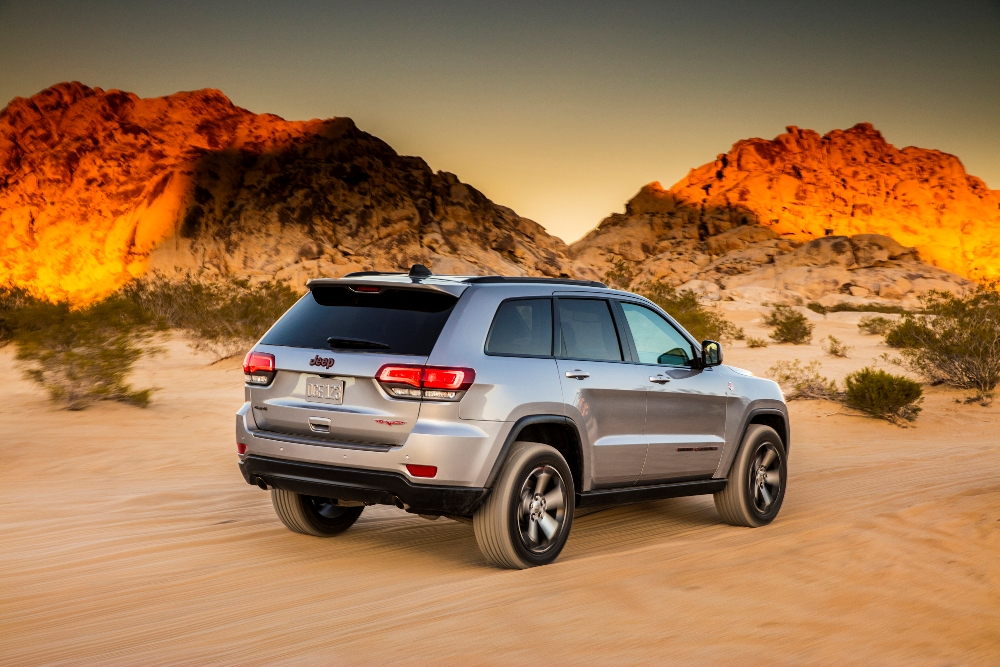 Four Wheeler S 2017 Suv Of The Year Award Goes To Jeep