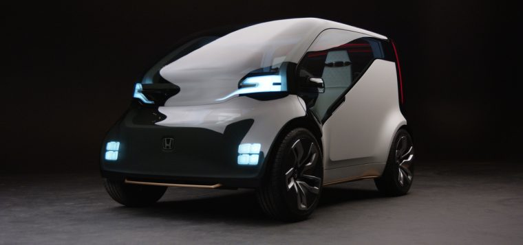 "The Honda NeuV is an electric automated mini-vehicle concept equipped with an artificial intelligence (AI) ""emotion engine"" and automated personal assistant, which can create new possibilities for human interaction and new value for customers."