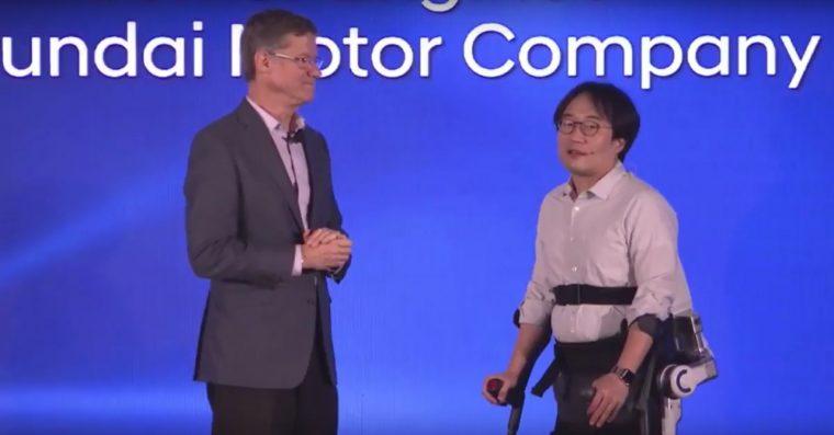 Hyundai future mobility presentation at CES 2017