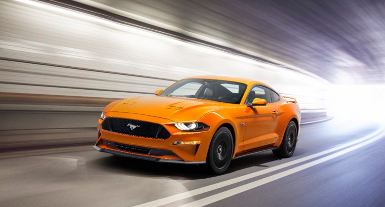 2018 Ford Mustang GT Orange Fury