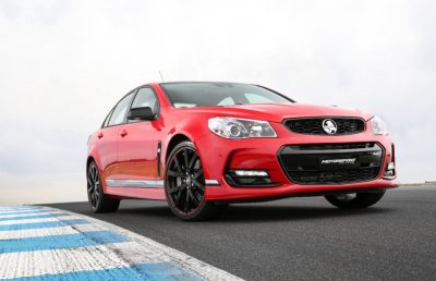 The 3 new special edition Holden Commodores are meant to honor the vehicle's last year of Australian production