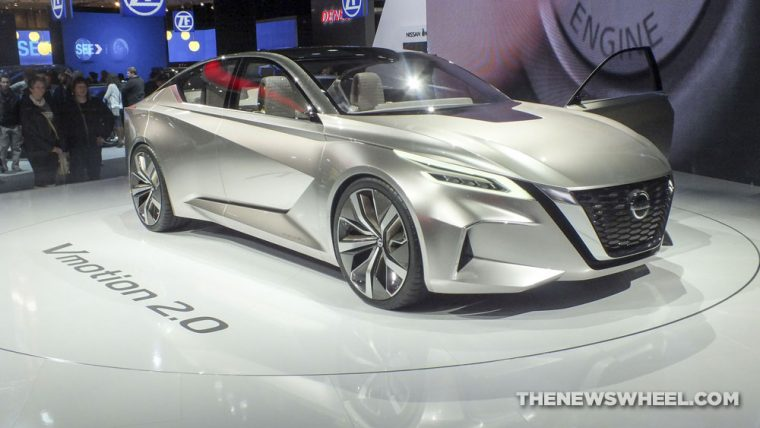 Nissan Vmotion 2.0 Concept was one of the standout vehicles from the 2017 Detroit Auto Show