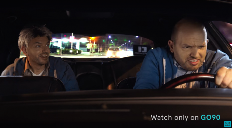 Paul Scheer in the rideshare comedy DriveShare