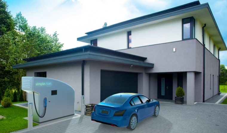 SimpleFuel Hydrogen Refuel Station