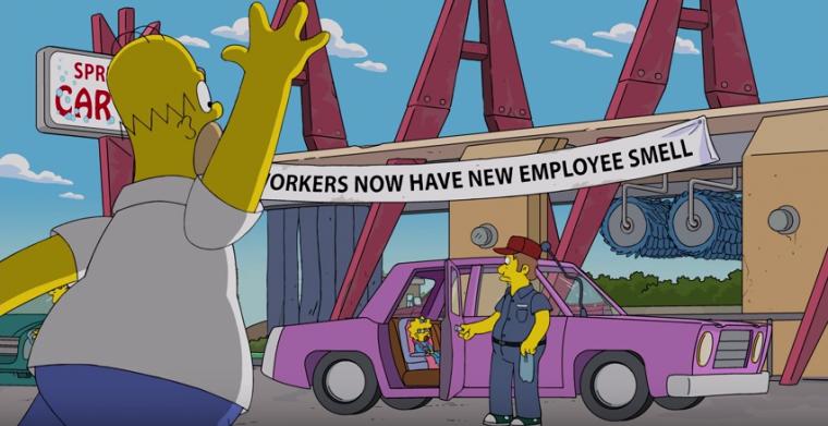 Homer Simpson car