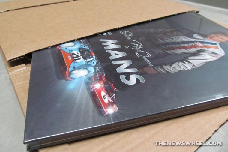 Steve McQueen in Le Mans graphic novel comic book review Garbo Studios cover price