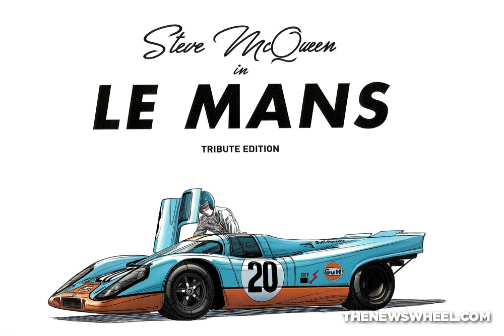 steve mcqueen in le mans graphic novel comic book review garbo studios title pages the news wheel. Black Bedroom Furniture Sets. Home Design Ideas