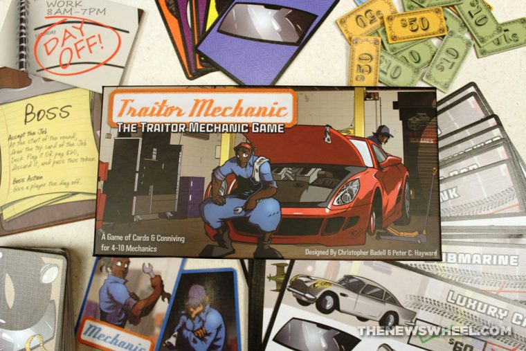 Traitor Mechanic Game Review Dice Hate Me Car Garage Social Deduction