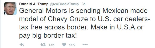 Donald Trump is an insipid moron