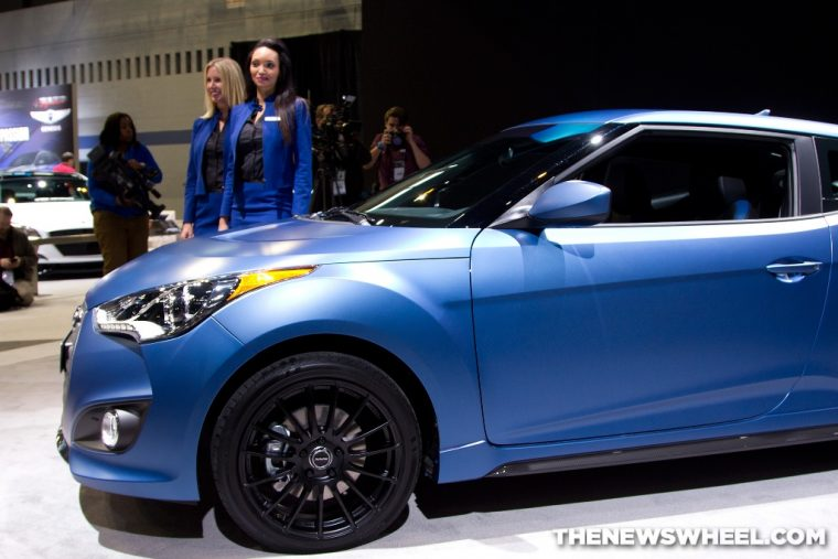 Veloster Turbo Rally Edition at 2015 Chicago Auto Show