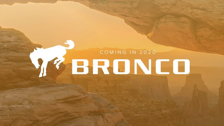 Ford Bronco 2020 logo