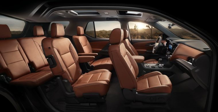 Photos 2018 Chevrolet Traverse Looks Fancy Gets High Country And